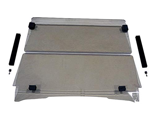 3G New EZGO TXT Tinted Folding Golf Cart Windshield 1994-2013