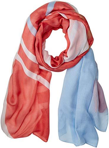 BOSS Damen Nasun Schal, Orange (Light/Pastel Orange 835), One Size (Herstellergröße: STCK)