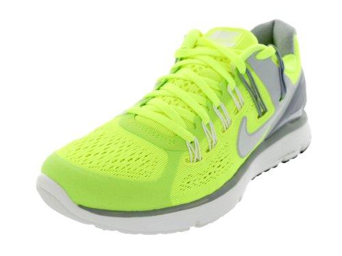 Nike Women's Lunareclipse+ 3 Volt/SMMT Wht/WLF Gry/Pr Pltnm Running Shoe 9 Women US