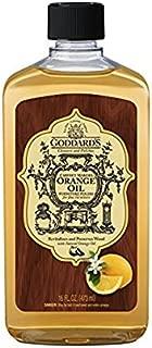 Goddard's Cabinet Makers Orange Oil Furniture Polish – 16 oz – Ideal For Woodwork and Furnishings