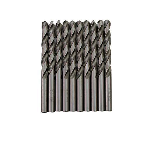 Broca HSS para metal M-2 de 10mm (paquete de 10 unidades)