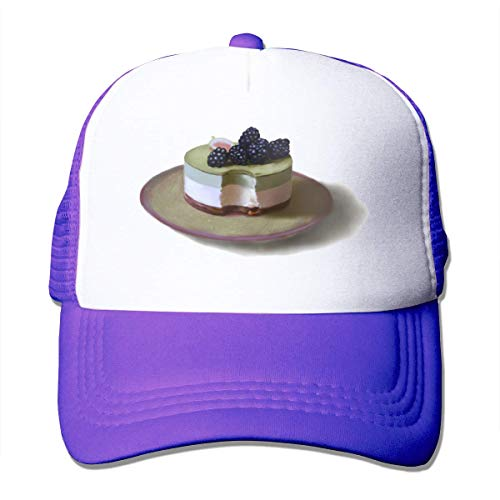 wenxiupin Dessert Unisex Strapback Baseball Caps Adult Mesh Rock Hüte Verstellbarer Snapback