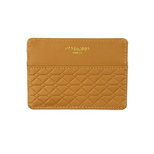 Diamond Supply Quilted Hunting Card & ID Holder