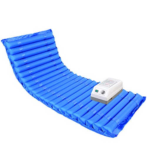 Cushion Anti-Decubitus Air Mattress with Hole,Alternating Pressure Pad for Pressure Ulcer and Pressure Sore Treatment,Includes Electric Pump,A,200 * 90CM