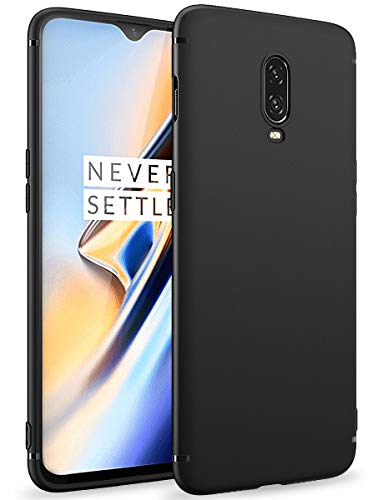 BENNALD Cover Oneplus 6T Custodia in TPU Opaco, Morbido TPU Custodia Cover Slim Anti Scivolo Custodia Protezione Posteriore Cover Antiurto...
