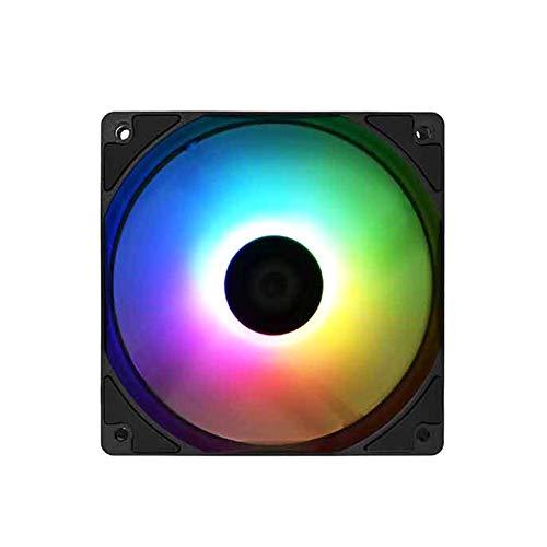 Ventilador de levitación magnética de alta presión de bajo ruido, XF-12025-ARGB PWM PC Case Fan 120mm Direccionable RGB Ventilador para enfriador de aire