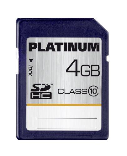 Platinum 4 GB Class 10 SDHC Speicherkarte 177115