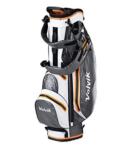 Volvik Sac de Golf étanche 360 Unisexe Blanc/Gris/Orange...