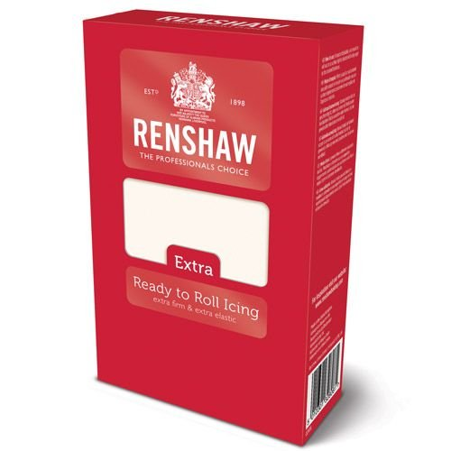 Renshaw Ready to Roll Icing Extra, 1er Pack (1 x 1 kg)