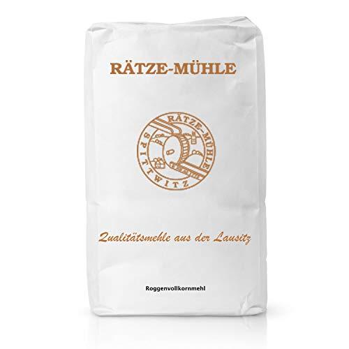 Bäckerei George   Roggenvollkornmehl Mehl Bäckerqualität
