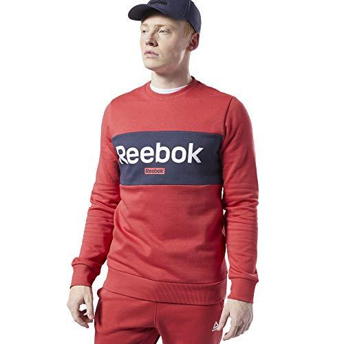 Reebok Te Big Logo Crew Sweatshirt für Herren,, M