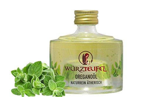 Oreganoöl, Oreganum, Oregano-Öl. Naturrein, ätherisch. Glasflasche 40 ml.