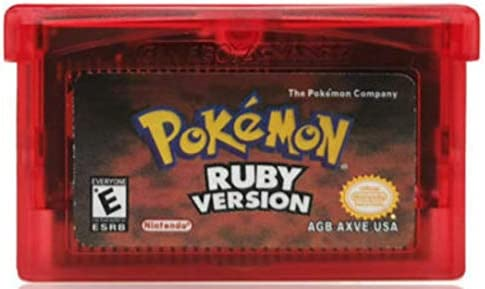 Pokemon Ruby Version for Gameboy Advance Reproduction replica USA English product image