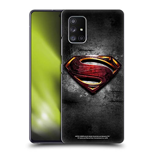 Head Case Designs Officially Licensed Justice League Movie Man of Steel Superman Logo Art Hard Back Case Compatible with Samsung Galaxy A51 5G (2020)