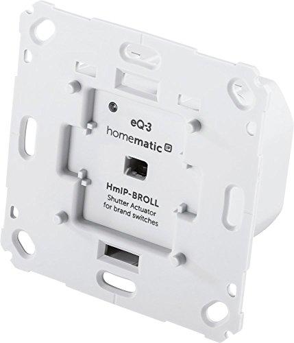 Homematic IP Smart Home Rollladenaktor für Markenschalter, intelligente Steuerung von Rollläden und Markisen, auch per kostenloser App, 151322A0