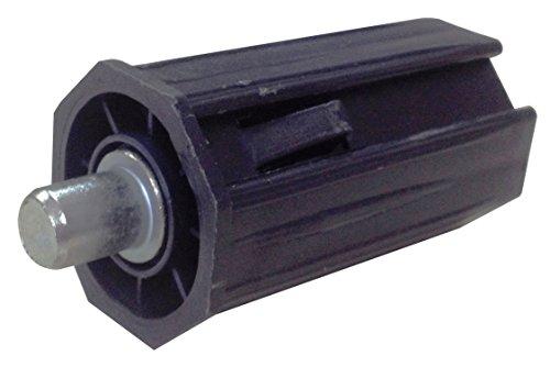 IUNCI 030.001 Cápsula de PVC para persiana con espiga metálica para eje de 40 octogonal.