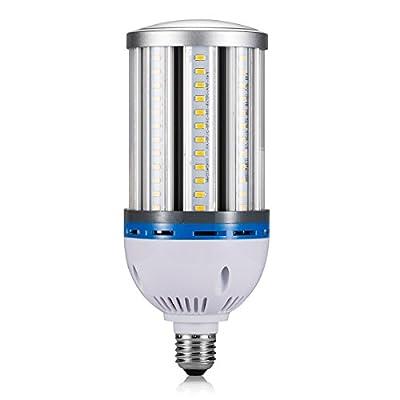 TOPL LED Corn Bulb, 6000k Day White 360 degree lighting for Street / Lamp /Post /Garage/ Factory /Warehouse