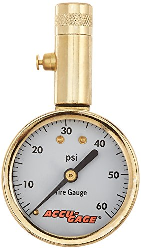 Accu-Gage 60 PSI Dial Tire Gauge (S60X)