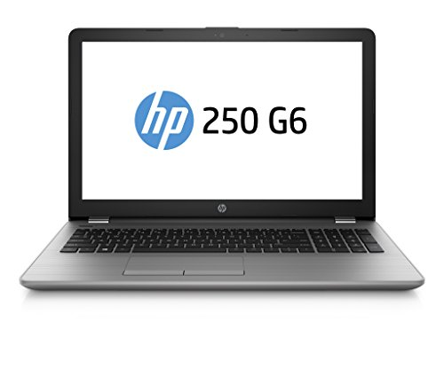HP 250 G6 SP 2UC30ES (15,6 Zoll Full HD) Business Laptop (Intel Core i5-7200U, 8GB RAM, 256GB SSD, Intel HD Grafikkarte, DVD-Writer, Windows 10) grau