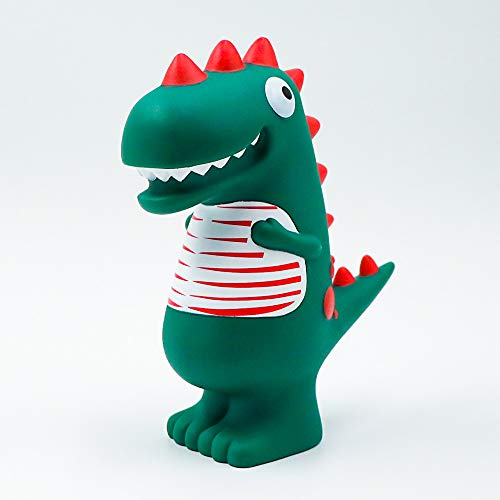 Piggy Bank, YANHU Cartoon Green Dinosaur Child Money Bank Shatterproof Money Saving Box Mini Creative Coin Bank Perfect Unique Money Savings Jar, Best Cute Toy Birthday Gift for Kids Boys Girls Adults