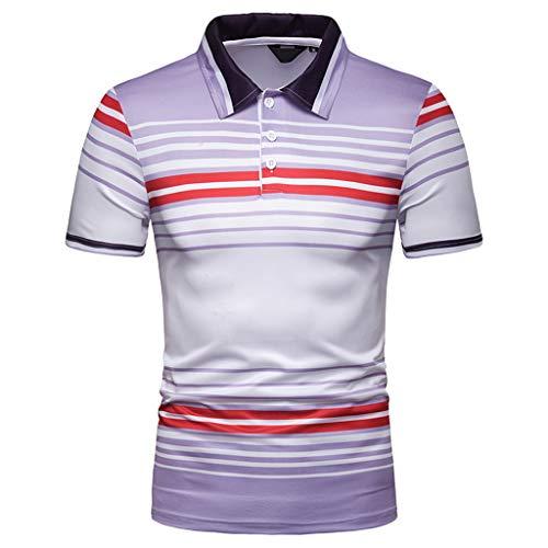 Blusa de los Hombres,Camiseta Moda Camisetas Impresión Camisa de Manga Corta Camiseta Blusa 2019