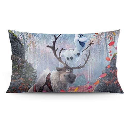 O-Laf - Funda de almohada decorativa larga para sofá, cama, decoración del hogar, 50 x 91 cm