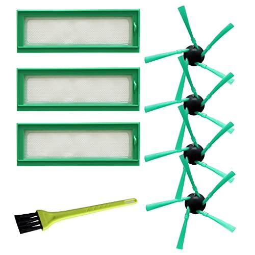 IUCVOXCVB Accesorios de aspiradora Equipo de Filtro de Filtro Conjunto de Cepillo Lateral para Vorwerk Kobold Cepillo de Limpieza