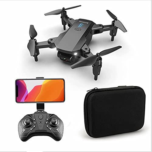 Drone GPS con fotocamera 4k - Tempo di volo 10 minuti, Kit mini drone con trasmissione in diretta Fpv WiFi doppia fotocamera con gimbal, Quadricottero Rc pieghevole con funzione Follow Me