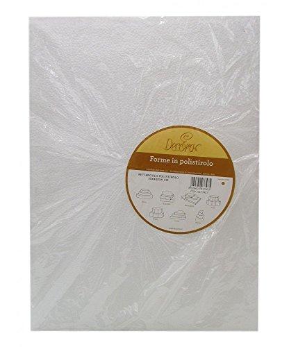 Bases de poliestireno ideales para practicar y para hacer pasteles en pisos con apariencia perfecta Tamaño 30X40X5H CM