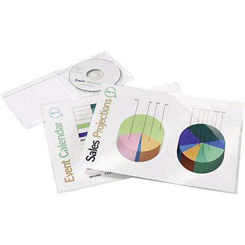 Aveli 3200723 Pouch per plastificazione documenti, A4, 2x125 Micron, 100 pezzi, Lucide