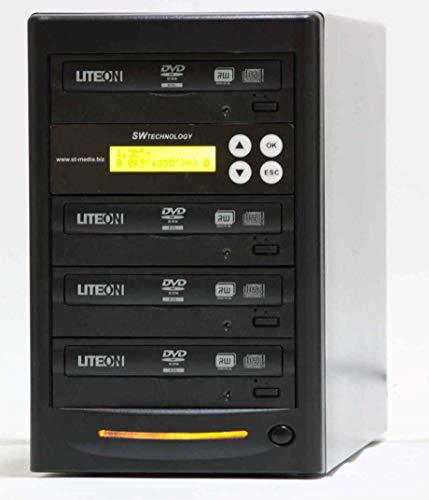 ■SW社製 1対3 DVD・CDデュプリケーター■日本語表示■LITEONドライブ使用■DUP-SWDVD13LIT