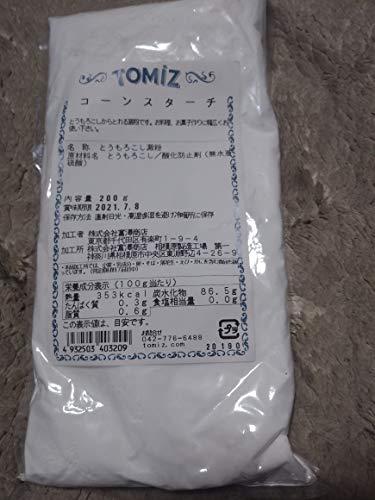 コーンスターチ / 200g TOMIZ/cuoca(富澤商店) コーンスターチ(でんぷん類) コーンスターチ