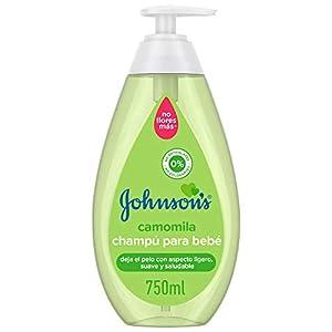 Johnson's Baby Champú Camomila, ideal para toda la familia - 750 ml