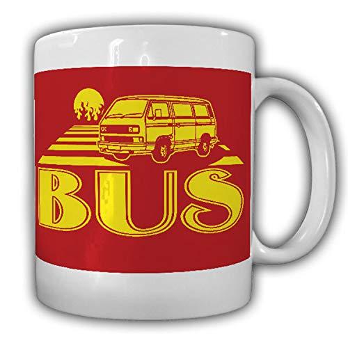 Tasse Volks BUS T3 Bulli Lkw Doka Auto Kult Pritsche Shirt Schrauber Hobby #7159