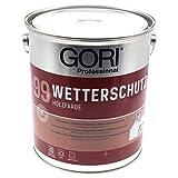 0,75L Gori 99 Professional weiß Holzfassaden-Farbe Wetterschutzfarbe