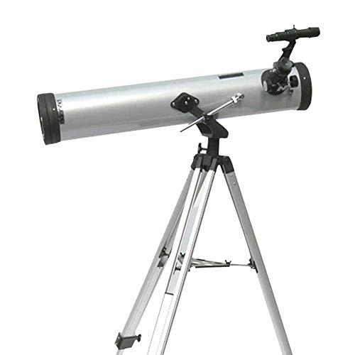 Telescopio para niños y adultos principiantes Telescopio refractor compacto HD Prismáticos Astronomía for niños y principiantes, Ámbito de viajes for el Moon Stars Visualización de la observación de p