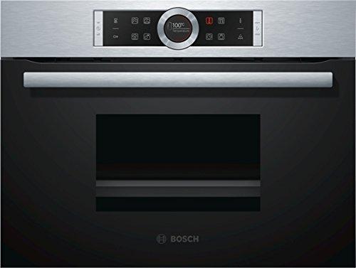 Bosch CMG636BS2 Serie 8 Backöfen, Elektro / Einbau / 45 L / Kompaktbackofen mit Mikrowelle / PerfectRoast & PerfectBake