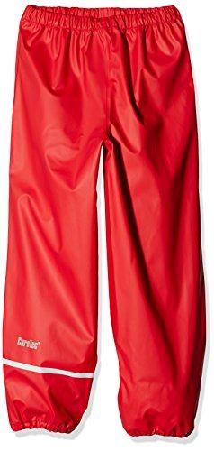 CareTec Kinder Regenhose (verschiedene Farben) , Rot (Red 402), 140