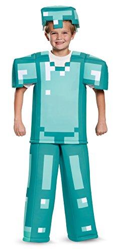 Armor Prestige Minecraft Costume, Multicolor, Large (10-12)