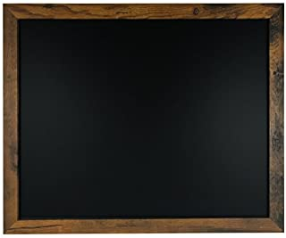 Rustic Wood Premium Surface Magnetic Chalk Board- 18