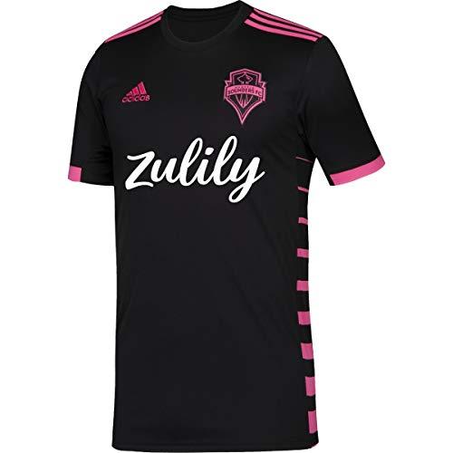 adidas Youth Seattle Sounders FC Black 2019 Nightfall Replica Jersey (Youth Large (14-16))