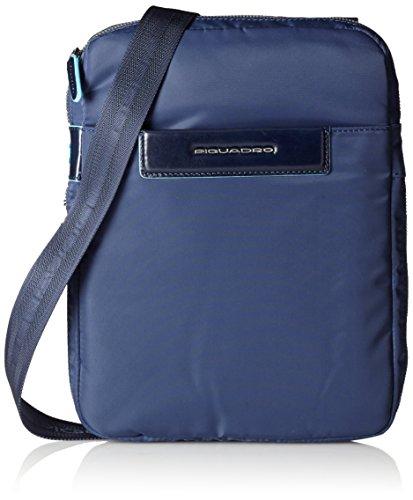 Piquadro Celion Borsello, Nylon, Blu, 27 cm
