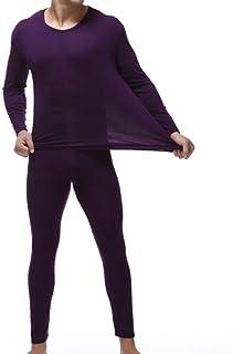 Winter Herren Thermo Underwears Satz Lange Unterhosen Hose /& Top Schlafanzug