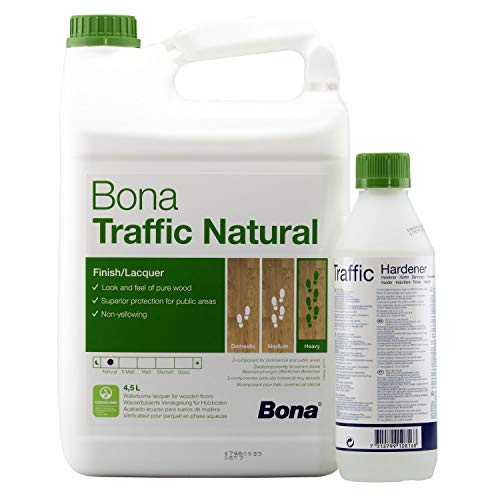 Bona TRAFFIC Natural 2 K ultramatt 4,95 L (4,5 Liter + 0,45 L Härter)