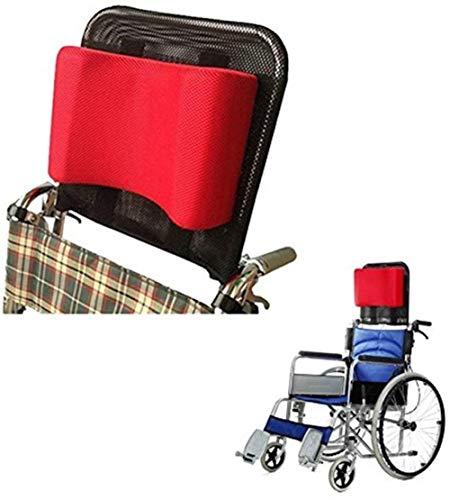 DXYAN Reposacabezas para silla de ruedas con reposacabezas y respaldo cómodo cojín ajustable acolchado para adultos, accesorio portátil universal para silla de ruedas de 16 a 20 pulgadas
