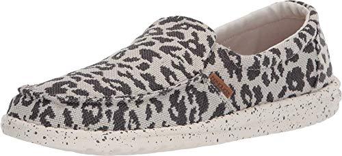 Hey Dude Women's Misty Woven Cheetah Grey, Size 8