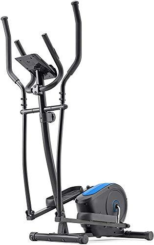 Caminadoras y bicicletas estacionarias el funcionamiento del dispositivo, una máquina elíptica, para el hogar o gimnasio,Blue