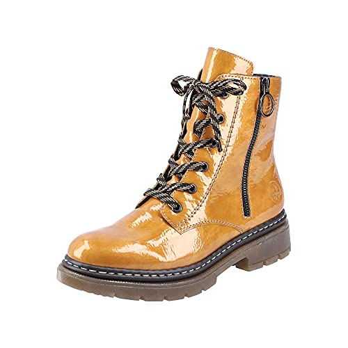 Rieker Damen 77320 Mode-Stiefel, gelb, 40 EU