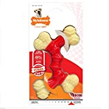 Nylabone Dura Souper Bacon Flavored Double Bone Dog Chew Toy