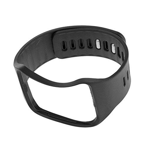 Reemplazo Banda Pulsera Correa de Reloj para Samsung Gear S SM-R750 Negro